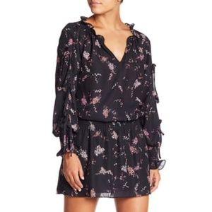 Parker floral smocked waist dress S // 1319